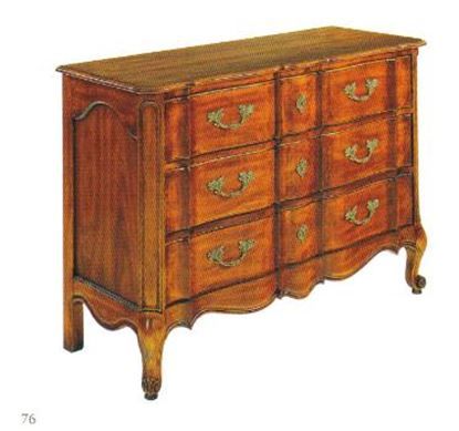 Picture of French Serpentine Chest