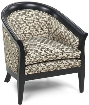 Picture of Edward Black Matte Chair