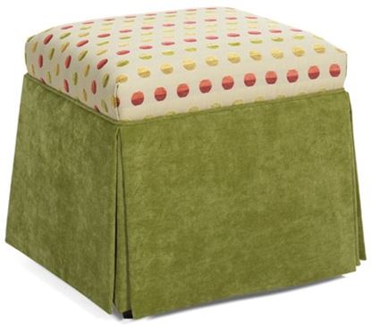 Picture of McKinna Fabric Ottoman