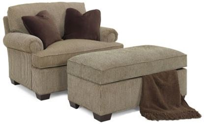 Picture of Melbourne Chair & Ottoman