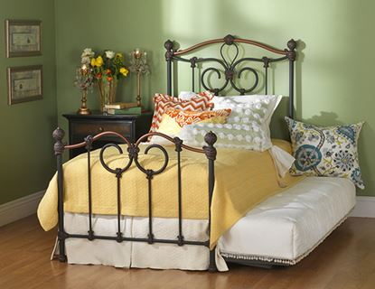 Picture of Olympia Copper Black Youth Bed