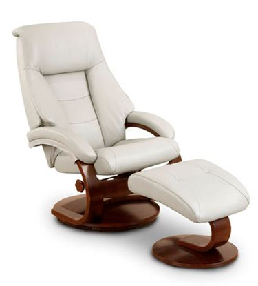 Picture of RECLINER PUTTY TOP GRAIN LEATHER ALPINE FINISH