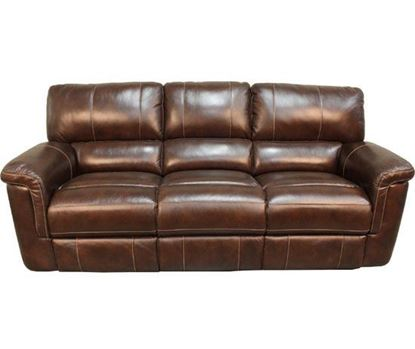 Picture of Hitchcock Cigar Leather Sofa