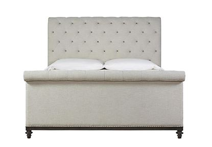 Picture of Cute-as-a-Button Sleigh Bed