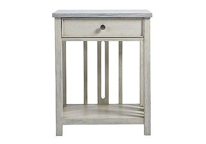 Picture of Coastal Living - Bedside Table with Stone Top 833351