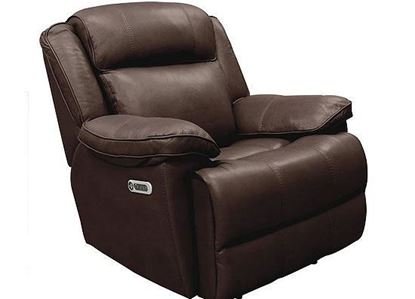 FLORENCE BROWN Power Recliner (MECL#812PH-FBR) by Parker House furniture