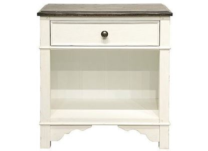 Grand Haven One Drawer Nightstand 17268 by Riverside furniture