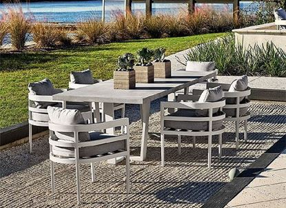 South Beach Outdoor Dining Collection from Universal furniture
