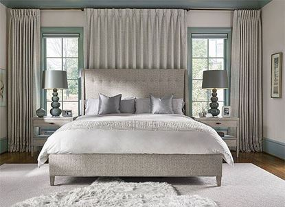 Midtown Bedroom Collection with upholstered panel bed